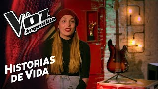 conoce a camila canziani    la voz argentina 2018