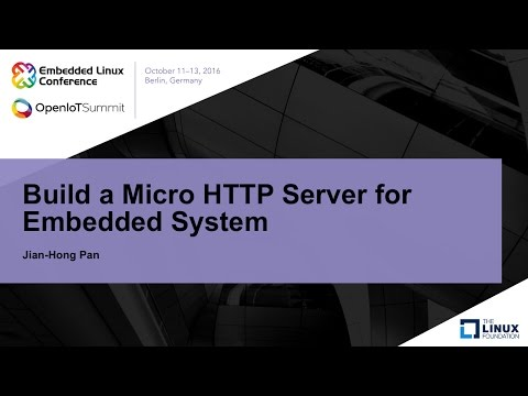 Build a Micro HTTP Server for Embedded System