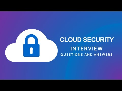 Cloud Security Interview Questions and Answers | Cloud Computing | Cloud Security |
