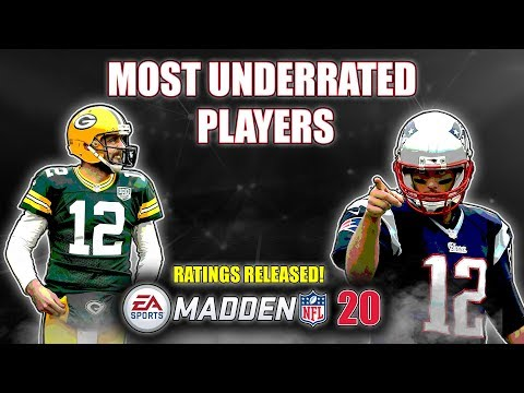 The 10 Most UNDERRATED Players In Madden 20 | RATINGS RELEASED!!!