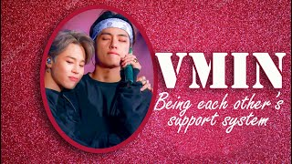 Vmin being each other's support system (BTS - Taehyung and Jimin)