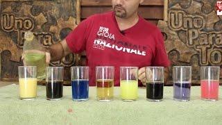 Cambiando el color de los líquidos │Ciencia mágica  │ Experimento Fácil│