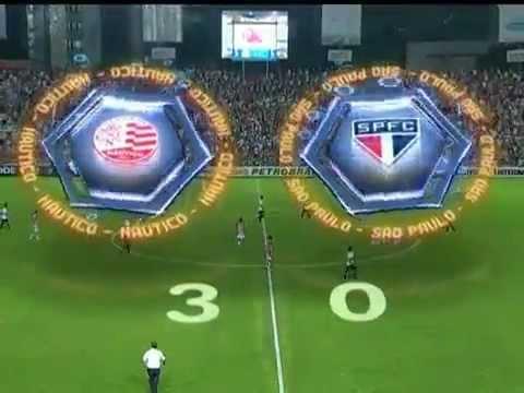 Melhores Momentos - Náutico 3 x 0 São Paulo - (17ª Rodada) Campeonato Brasileiro 2012