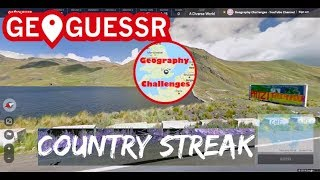 Geoguessr - Return to Country Streaking (1 insane guess)