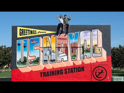 Greetings From Liberty Station - US Naval Training Station