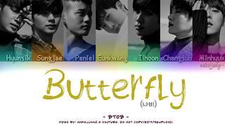 [2.91 MB] BTOB (비투비) – BUTTERFLY (나비) (Color Coded Lyrics Eng/Rom/Han/가사)