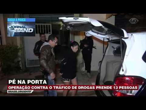 Polícia Prende 13 Pessoas Em Operação Contra O Tráfico