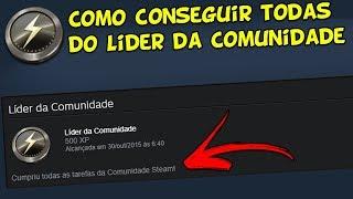 STEAM - COMO COMPLETAR A INSÍGNIA LÍDER DA COMUNIDADE