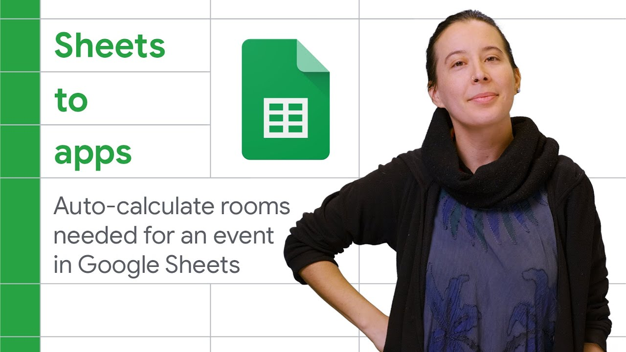 Auto-calculate Rooms needed for an Event in Google Sheets