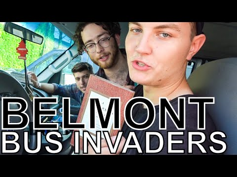 Belmont - BUS INVADERS Ep. 1366