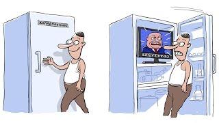 С. Белковский, Г. Гудков - Телевизор vs холодильник