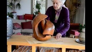 46- Fécondité - sculpture en chêne
