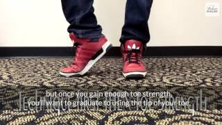How to Moonwalk like Michael Jackson thumbnail picture.