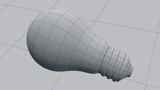 Создание лампочки в Blender (часть 1/2)
