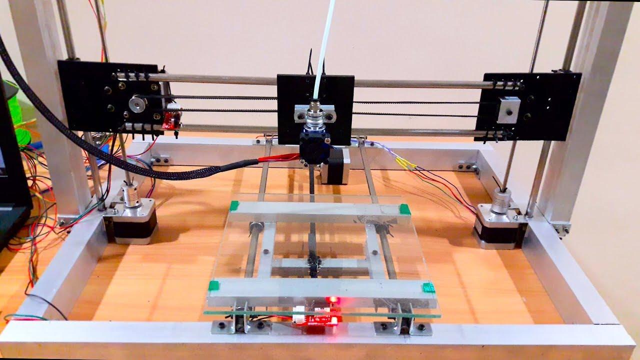 Arduino d printer homemade part youtube