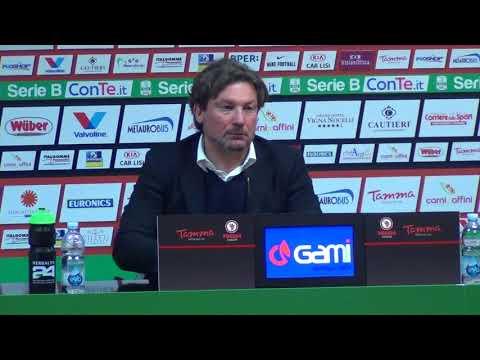 Foggia - Cesena 2-1, le parole dell'allenatore rossonero Stroppa