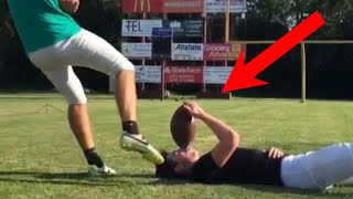 PEOPLE ARE AWESOME (American Sports Edition) | Football & Basketball Trick Shots thumbnail