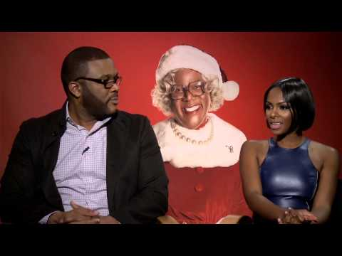 Tyler Perry´s A Madea Christmas: Tyler Perry & Tika Sumpter Official Interview Mp3