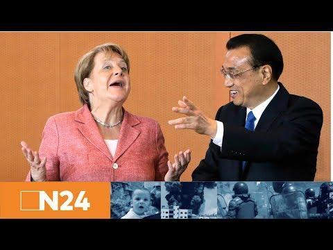"""N24 Nachrichten - Ziemlich beste Freunde: Deutschland und China wollen """"regelbasierte"""" Weltordnung"""