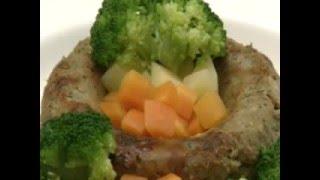特定原材料不使用の食物アレルギー対応レシピ「グリーンミートローフ」...