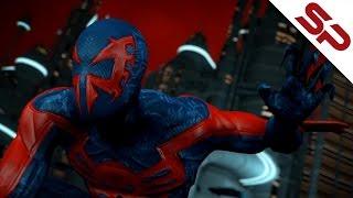 Бэтмен будущего VS Человек-паук 2099 (Альтернативная концовка) [Супер битва]