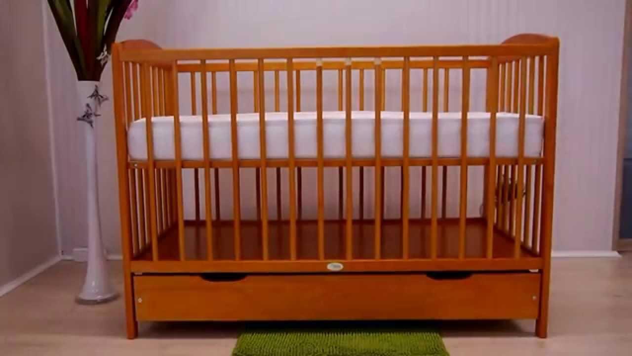 łóżeczko Dziecięce Z Szufladą 5 Kolorów Od Krak Wit