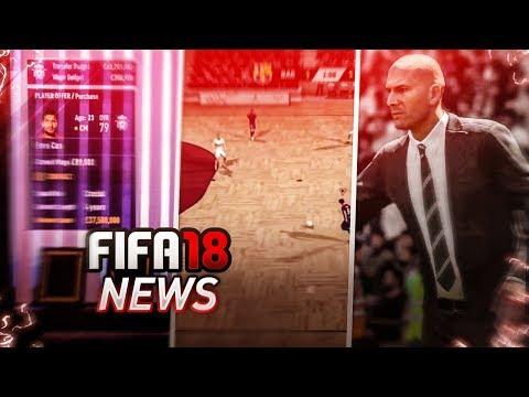 NOUVEAUTES FIFA 18 : FIFA STREET INCLUS, ZIDANE, CARRIERE, FUT CHAMPIONS, CLUB PRO...