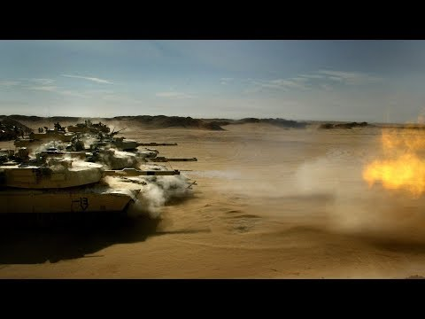 The Korps Mariniers  Employ the M1 Abrams Tank during Patrols for Protection and as a Weapons