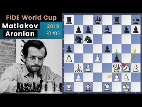 Another Couple Of Deadly Knights! - Matlakov vs Aronian | Fide World Cup 2019