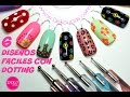 Decoración de uñas FACIL con dotting - Dotting easy nail art