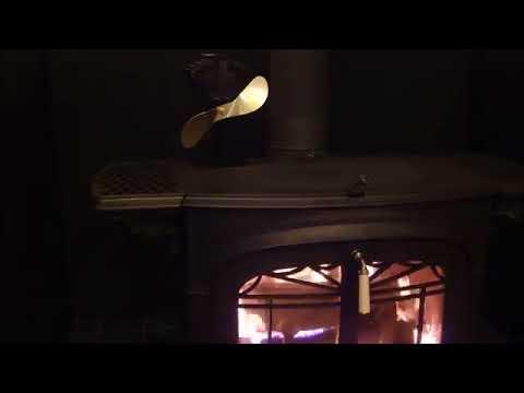 エコファン Ecofan Wood stove Fan