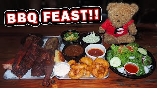 Peeper's Smoked BBQ Challenge w/ Ribs, Chicken, Brisket, and MORE!!