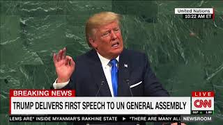 Trump Slams Iranian Terrorism and Nuclear Activity During UN Speech