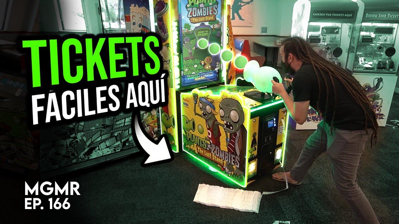 Ganando Jackpots Fáciles en Chuck E. Cheese - MiniGames en el Mundo Real Ep. 166