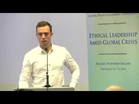 Dr  Jonathan Keir speaks about countering violent extremism at GPLC Belfast 2016