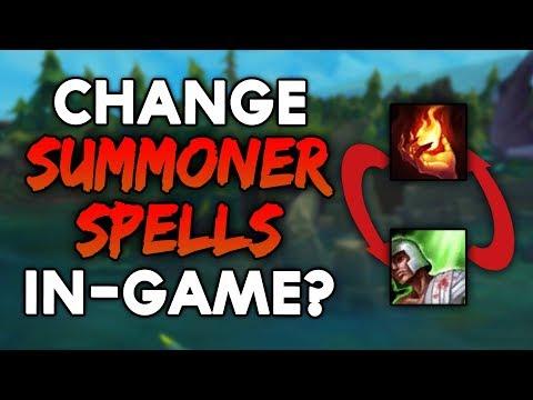 Change SUMMONER SPELLS DURING GAMES? Season 8 Rune Update (League of Legends)
