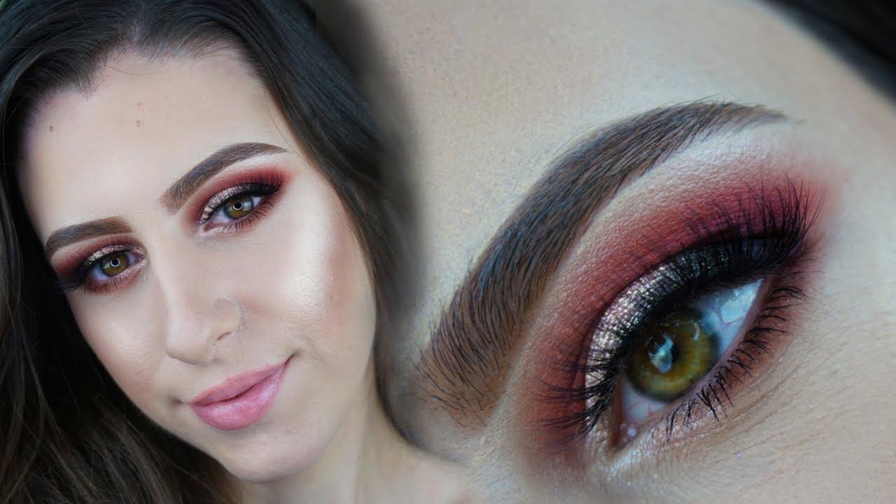 Machiaj Glam De Seara Cu Nuante De Roz Alexandra Minghel Youtube