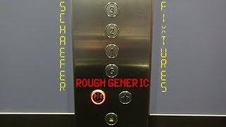 ANSA Elevator with Fake OTIS Indicator at the Premier Inn Hotel in York (Blossom Street)