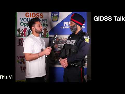 GIDSS TALK - How To Get Into Police Job (ON Canada)- Officer From Peel Police