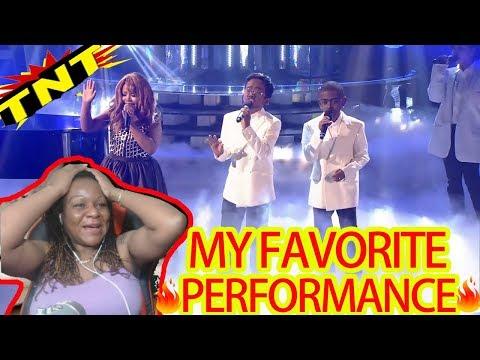 YFSFK Kids 2018 TNT Boys as Mariah Carey & Boyz II Men | One Sweet Day | REACTION