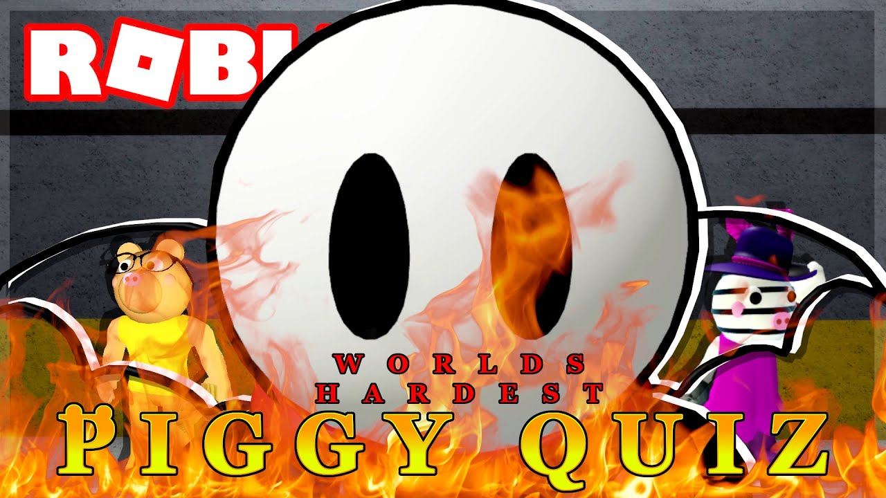 WORLDS HARDEST PIGGY QUIZ!! (Roblox)