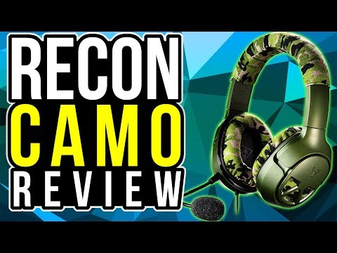 Turtle Beach EAR FORCE RECON CAMO REVIEW & UNBOXING COD WW2 Gaming Headset