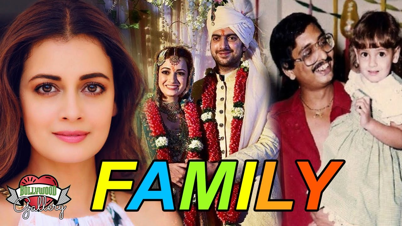 Download Dia Mirza Family With Father, Mother, Husband & Affairs