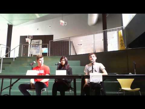 Illinois Tech SGA 2016 Executive Electoral Debates Full
