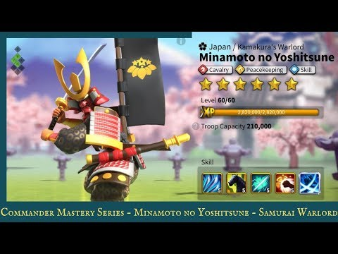 Commander Mastery Series : Minamoto no Yoshitsune - Samurai Warlord
