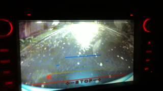 Камера заднего вида в ручку багажника на Ford focus 2