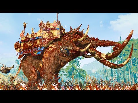 HIGH ELVES vs NORSCA - Total War WARHAMMER 2 Epic Cinematic Battle |