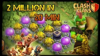 2 Million Loot in 20 Min ? | Ultimate Looting Guide | Clash Of Clans