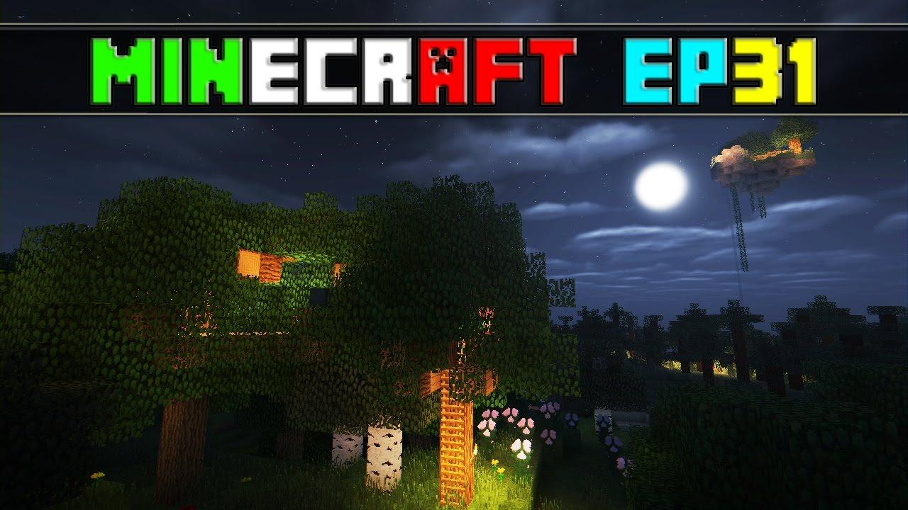 Minecraft survival ita 31 casa sull 39 albero youtube - Casa sull albero minecraft ...