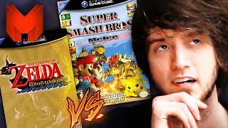 The BEST GameCube Games? Super Smash Bros Melee vs Wind Waker - Madness (The Legend of Zelda)